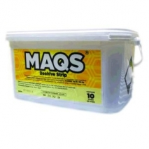 MAQS beehive 10 dose tub (treat 10 hives, contains 20 strips)
